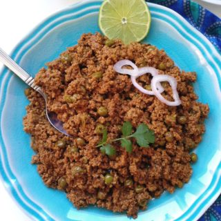 Matar Keema - Ground Chicken with Peas
