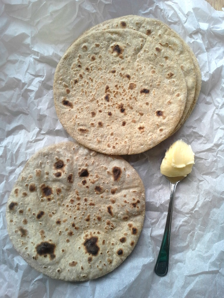 how to make soft wheat chapati