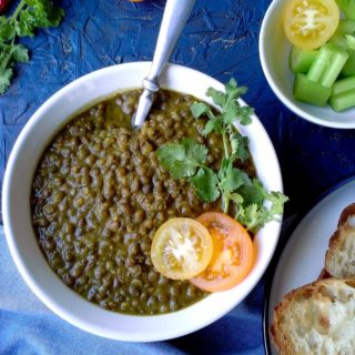 Sabat Masoor Daal - Whole Lentils Curry