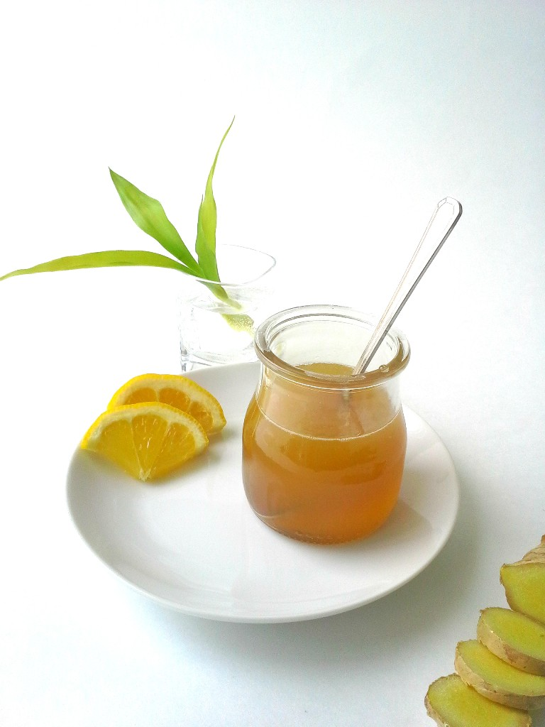 Honey and Ginger Cough Remedy