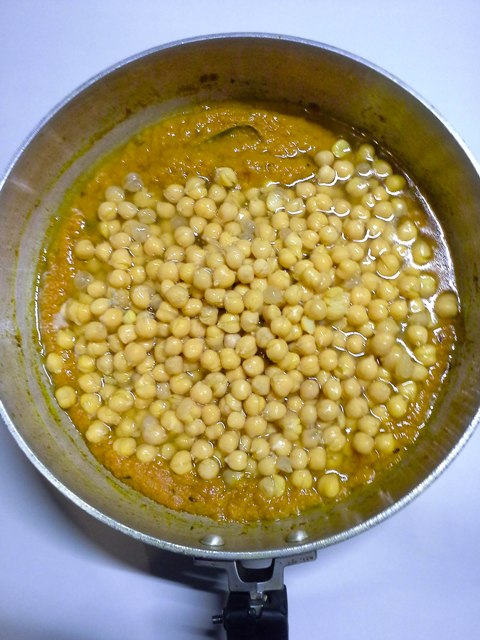 Chana Masala-Chickpeas Curry